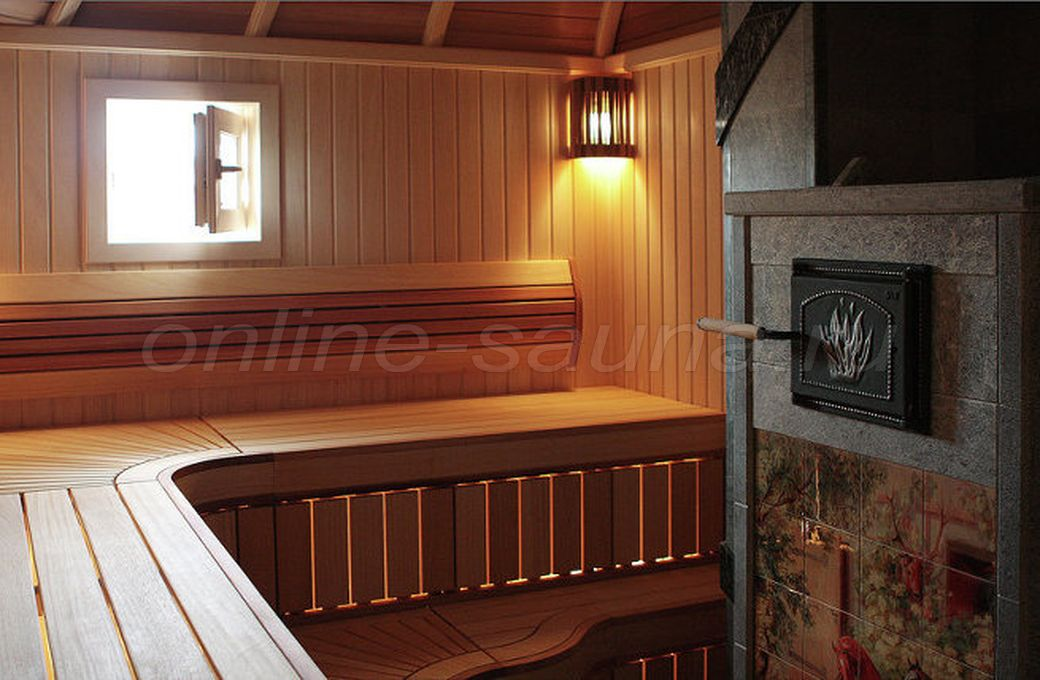 Банька на дровах